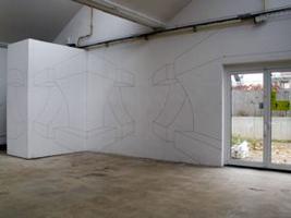 Gertrud Genhart, Basel - Wandzeichnung FabriCulture 2007