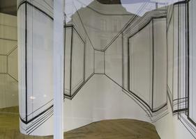 Gertrud Genhart, Basel - Raumzeichnung YWAO, 2009