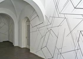 Gertrud Genhart, Basel - Wandzeichnung Nairs, 2011